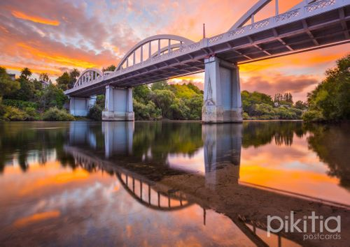 Fairfield Bridge, Hamilton, Waikato, New Zealand